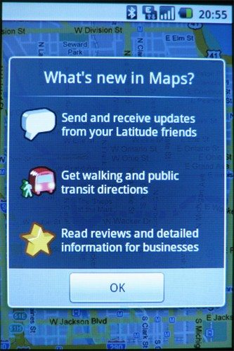 google-maps-update-android