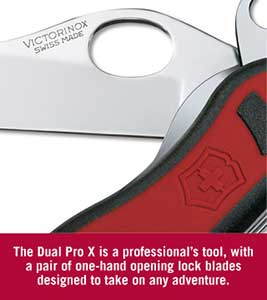 Victorinox Dual Pro X Knife Review The Gadgeteer