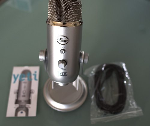 yeti by blue microphone review the gadgeteer. Black Bedroom Furniture Sets. Home Design Ideas