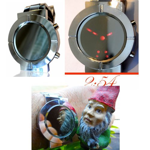 If You Like To Always Have A Mirror At Hand Perhaps One On Your Wrist Will Suffice The Vanity Watch From Gadgets And Gear Looks Polished