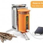 Cook Your Food and Charge Your Gadgets with BioLite CampStove