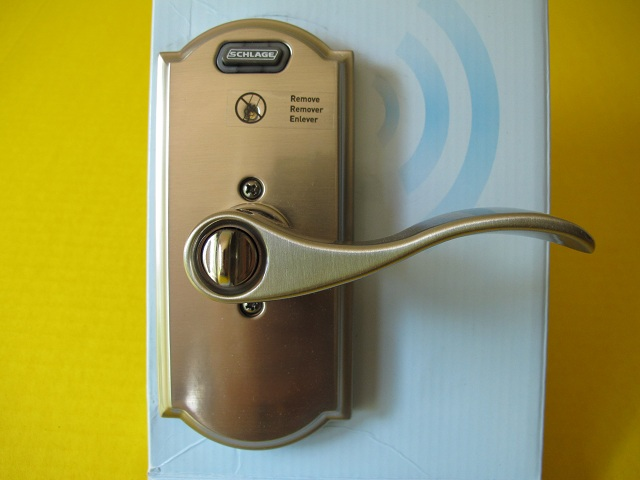 Schlage Keyed Entry Lock With Built In Alarm Review The
