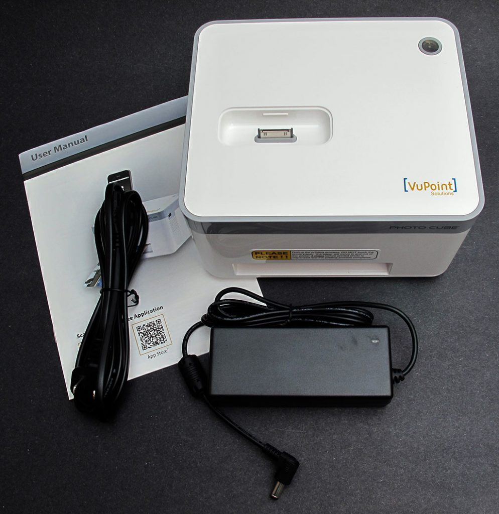 Vupoint Solutions Photo Cube Photo Printer Review The Gadgeteer