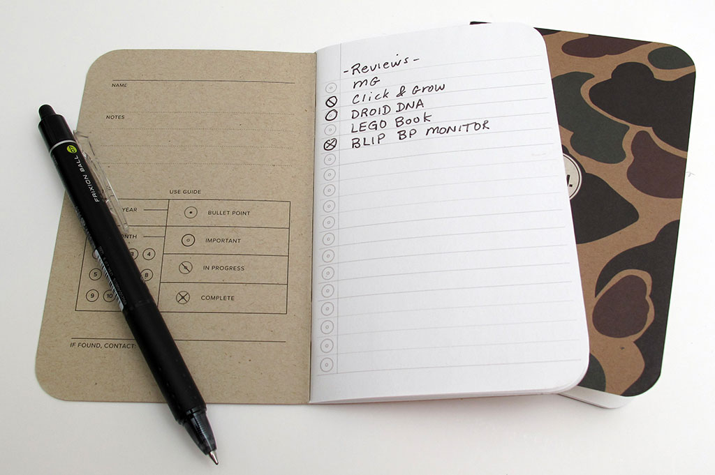 word notebooks review the gadgeteer
