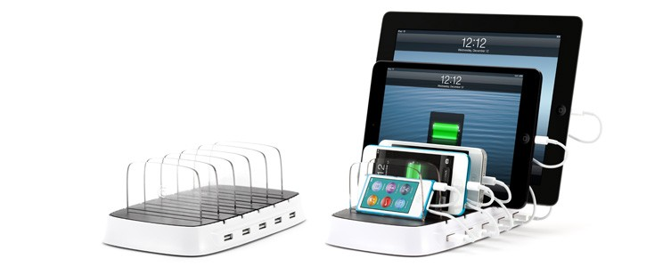 A Charging Station The Whole Family Can Use Simultaneously