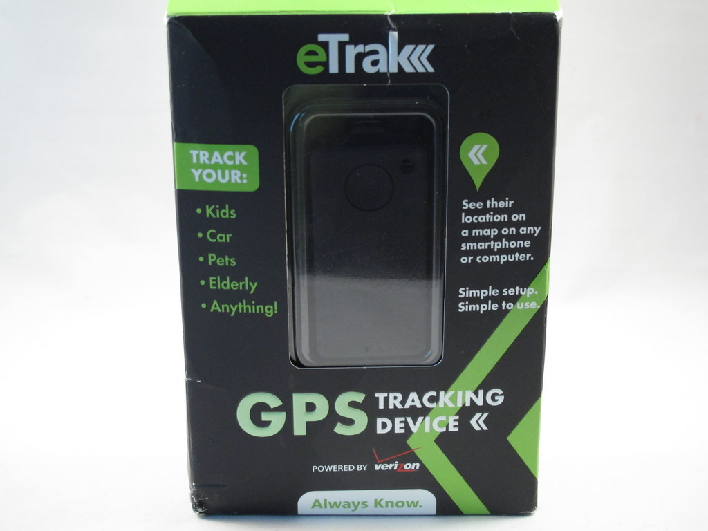 Etrak Gps Tracking Device Review The Gadgeteer