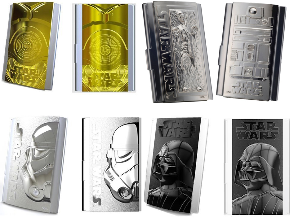 Star Wars Business Card Cases The Gadgeteer