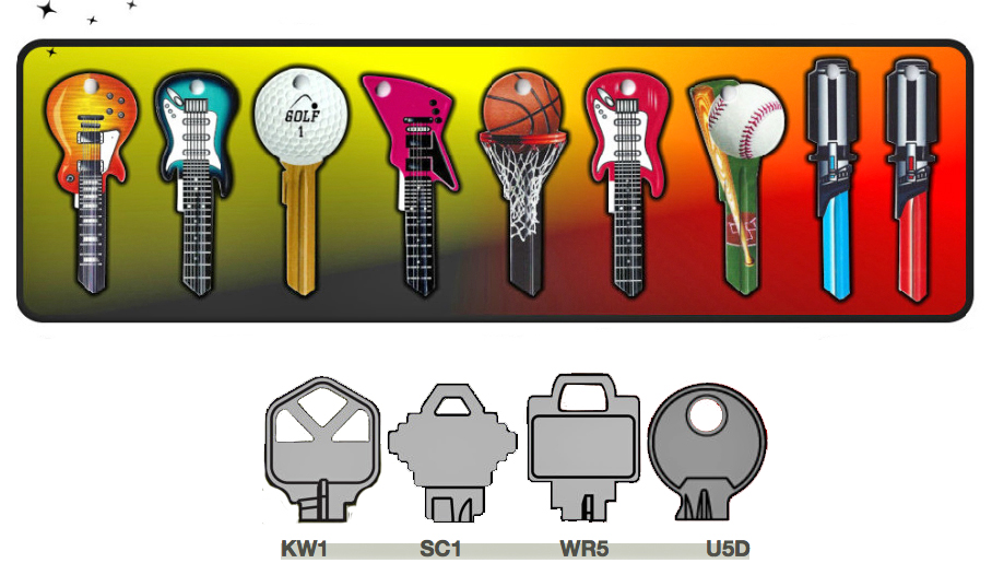Add some personality to your keychain with these Rockin' Keys – The Gadgeteer