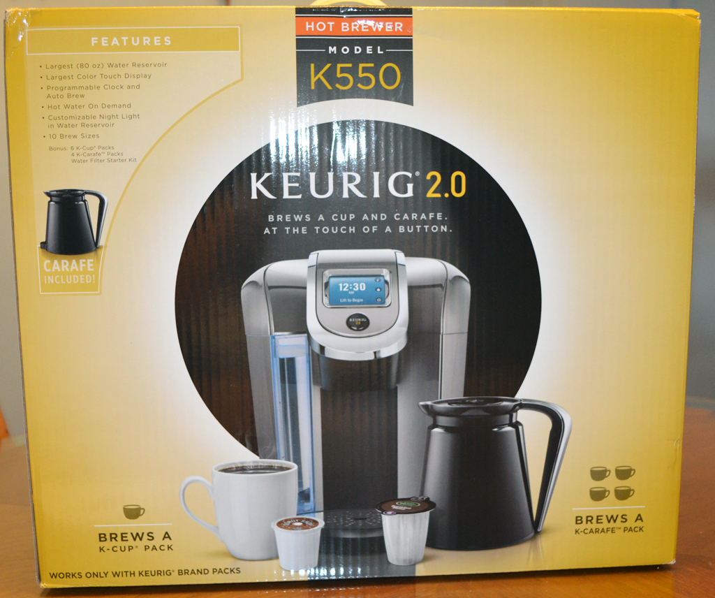 keurig coffee maker water reservoir