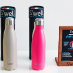 The S'well Bottle doesn't just keep your beverage at hand - it keeps it at the perfect drinking temperature, too