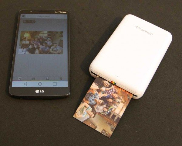 Polaroid Zip Instant Photoprinter Review The Gadgeteer