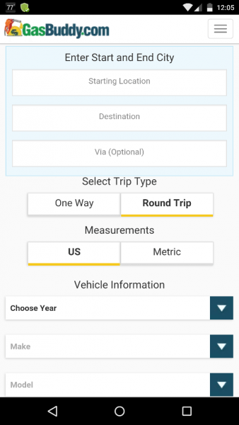Gasbuddy Trip Calculator 2