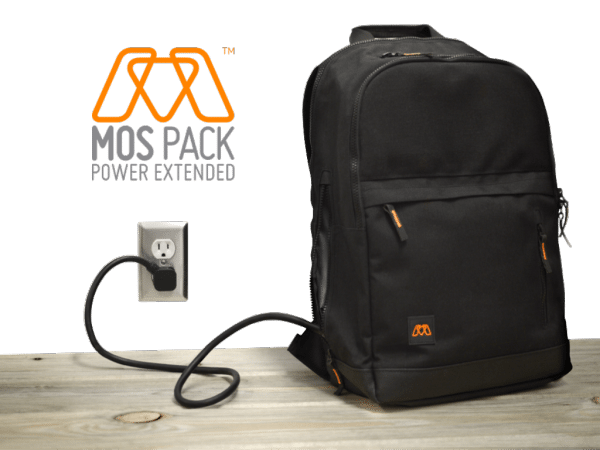 MOS Pack charging backpack review – The Gadgeteer
