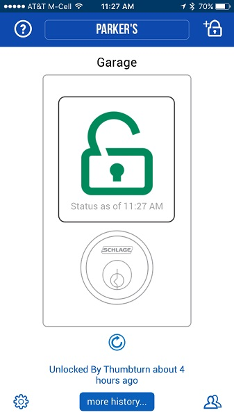 Schlage Sense Smart Deadbolt Lock Review The Gadgeteer