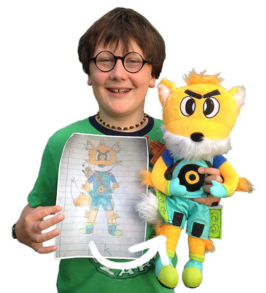 Crayola turns your child's doodles into stuffed toys – The Gadgeteer