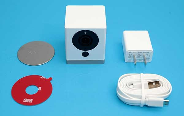 Running Security Camera Wires | Wyzecam Security Camera Review The Gadgeteer