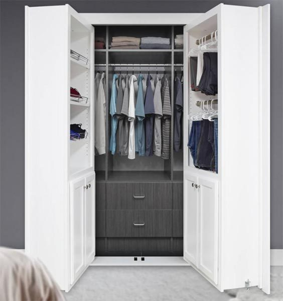 Forget Murphy beds – check out these Murphy doors! – The Gadgeteer