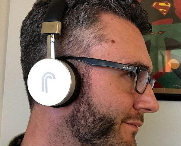 side profile of Studio43 headphones