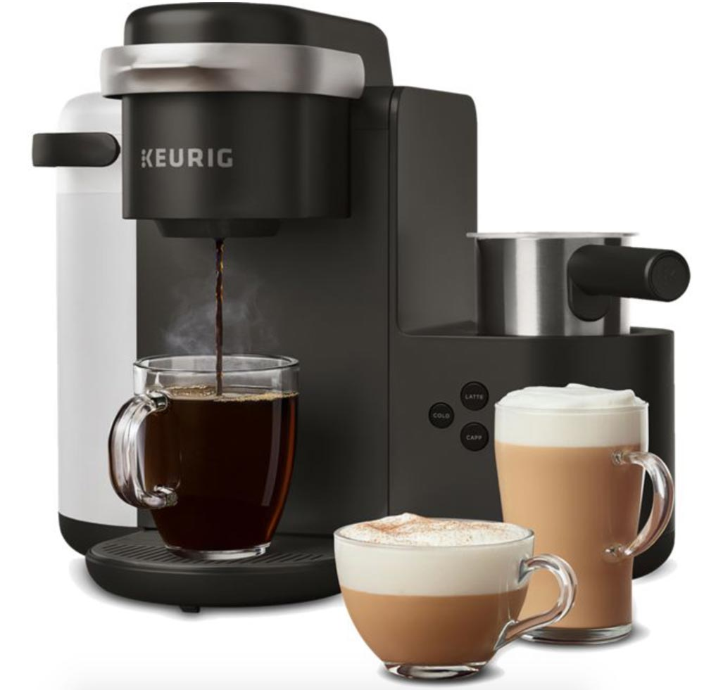 Keurig's New K-Café™ Is A Single-serve Coffee, Latte, And
