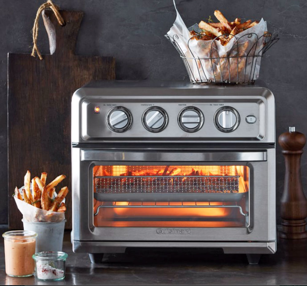 Cuisinart combines a toaster oven and an air fryer into