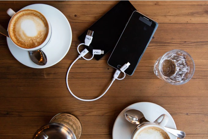 The Volt is the vampire of charging cables