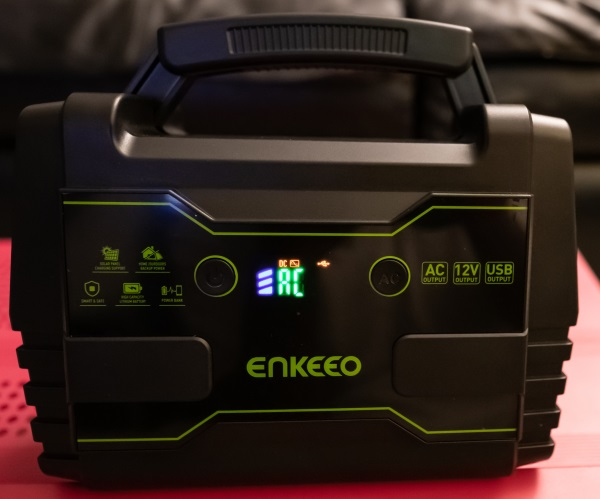 The Enkeeo Portable Power Station Review The Gadgeteer