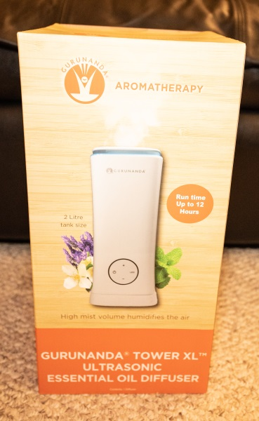 White Tower XL 2 Liter Humidifier Diffuser review