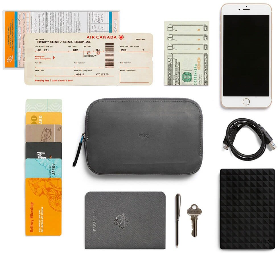Bellroy All-Conditions Essentials Pocket will help you carry, protect, and organize, for travel or EDC