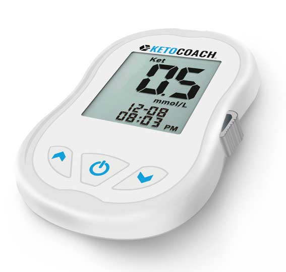 KetoCoach is a blood testing meter for ketosis