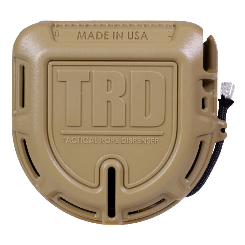 Atwood Rope MFG Tactical Rope Dispenser in Flat Dark Earth
