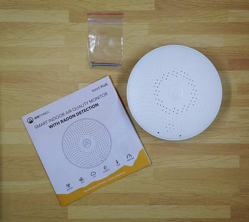 - airthings wave plus 2 - Airthings Wave Plus indoor air quality monitor with radon detection review – The Gadgeteer