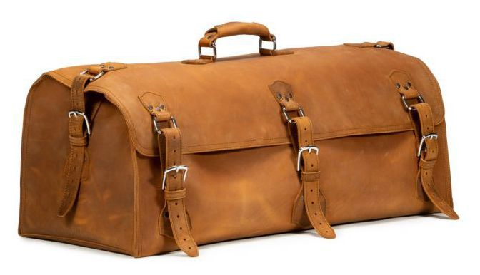 Saddleback Leather Co. Beast Duffle in Tobacco