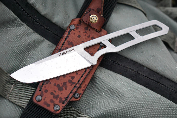 The Trayvax Trek Field Knife is an elegant knife for a more civilized age – The Gadgeteer