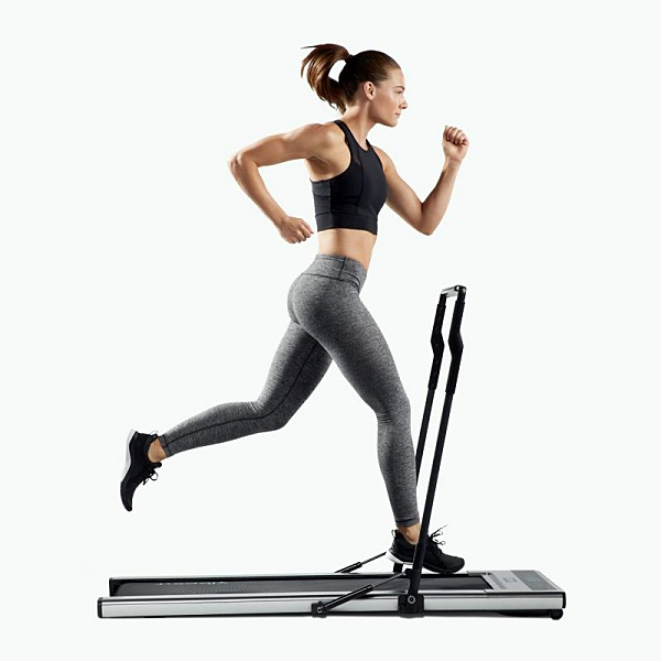 Squeeze in a workout in just about any space with the Treadly ultra-thin treadmill